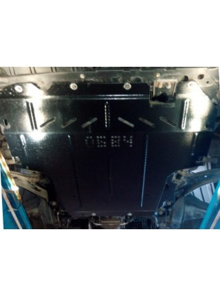 Защита двигателя, КПП, радиатора для авто Nissan NV200 2009- V-1,6i; 1,5DCI; (кроме базы Maxi) ( TM Kolchuga ) ZiPoFlex