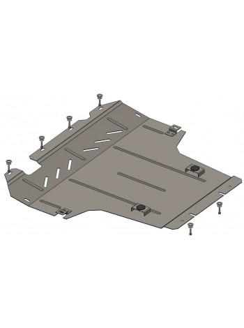 Защита двигателя, КПП, радиатора для авто Nissan NV200 2009- V-1,6i; 1,5DCI; (кроме базы Maxi) ( TM Kolchuga ) Стандарт