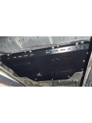Защита двигателя, КПП, радиатора для авто Peugeot Boxer I 1994-2006 V-2,0i с кондиционером; ( TM Kolchuga ) ZiPoFlex