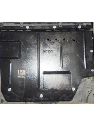 Защита двигателя, КПП, радиатора для авто Citroen Jumper I 1994-2006 V-2,0и с кондиционером ( TM Kolchuga ) ZiPoFlex