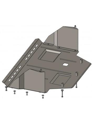 Защита двигателя, КПП, радиатора для авто Citroen Jumper I 1994-2006 V-2,0i с кондиционером; ( TM Kolchuga ) ZiPoFlex