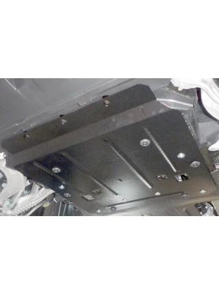 Защита двигателя для авто Jaguar F-Pace 2016- V-2,0D (АКПП) ( TM Kolchuga ) ZiPoFlex
