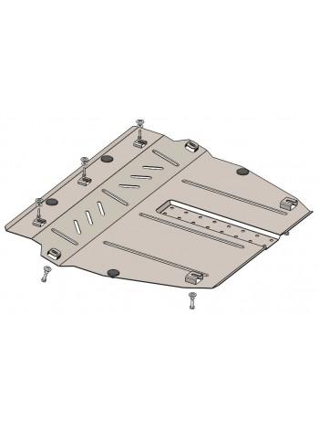 Защита двигателя, КПП для авто Ravon R2 2016- V-1,2 (АКПП) ( TM Kolchuga ) Стандарт