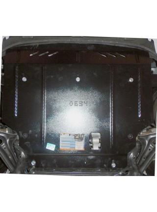 Защита двигателя, КПП, радиатора для авто Ford Fiesta ST EcoBoost 2013- V-1,6i (МКПП, кроме USA) ( TM Kolchuga ) ZiPoFlex