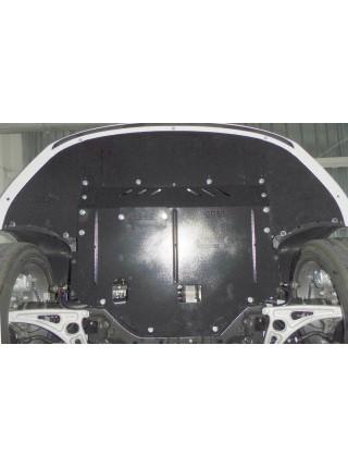 Защита двигателя, КПП, радиатора для авто Hyundai Sonata LF 2014- V-1,6 2,02,4 МКПП АКПП Hybrid не устанавливается ( TM Kolchuga ) Стандарт