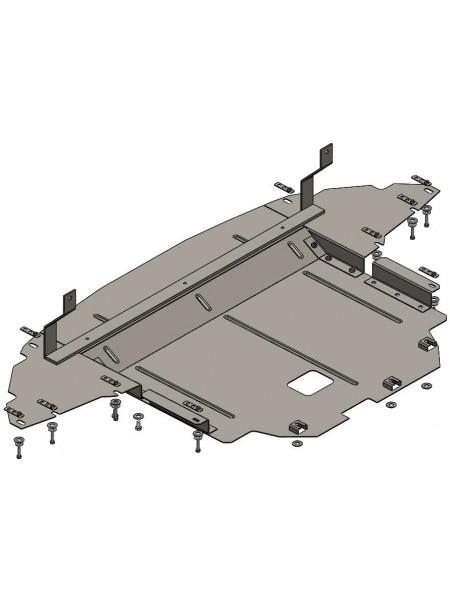 Защита двигателя, КПП, радиатора для авто Hyundai I-20 2014- V-1,4i ( TM Kolchuga ) ZiPoFlex