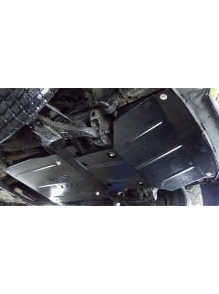 Защита двигателя, КПП, радиатора для авто GMC Canyon 2004-2014 V-2.8i (МКПП, 1GTSCS148068133607) ( TM Kolchuga ) ZiPoFlex