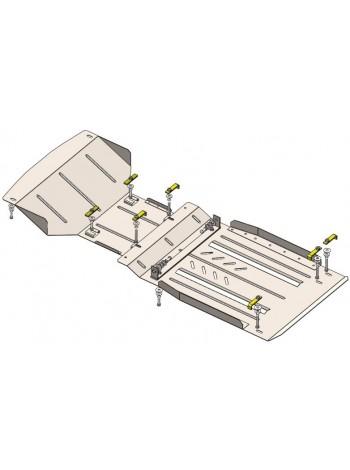 Защита двигателя, КПП, радиатора для авто GMC Canyon 2004-2014 V-2.8i (МКПП? 1GTSCS148068133607) ( TM Kolchuga ) Стандарт