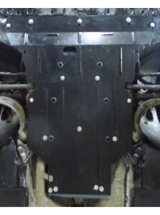 Защита двигателя, КПП для авто Audi A4 В9 2015- V-2,0 TFSI (АКПП) ( TM Kolchuga ) ZiPoFlex