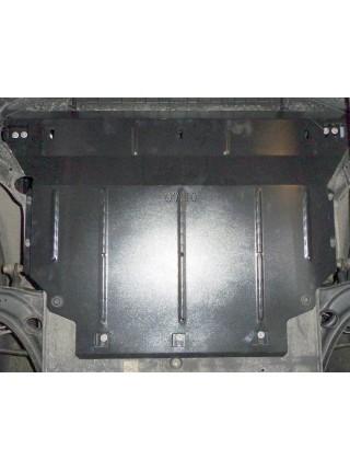 Защита двигателя, КПП, радиатора для авто Volkswagen Tiguan 2016- V-2,0TDI (АКПП, только для СНГ) ( TM Kolchuga ) ZiPoFlex