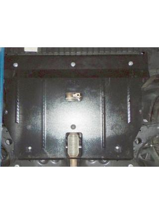 Защита двигателя, КПП, радиатора для авто Fiat Tipo 2016- V-1,4i МКПП ( TM Kolchuga ) Стандарт