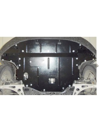 Защита двигателя, КПП, радиатора для авто Kia Niro Hybrid 2016- V-1,6i (АКПП) ( TM Kolchuga ) ZiPoFlex