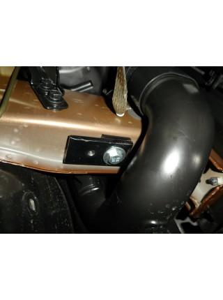 Защита двигателя, КПП, радиатора для авто Hyundai Creta IX25 Cantus 2014- V-1.6MPi ( TM Kolchuga ) ZiPoFlex