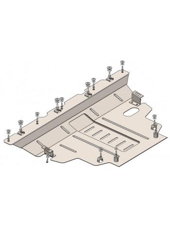 Защита двигателя, КПП для авто Jeep Renegade 2014- V-2,0D; 2,4i; (АКПП, 4х4) ( TM Kolchuga ) ZiPoFlex