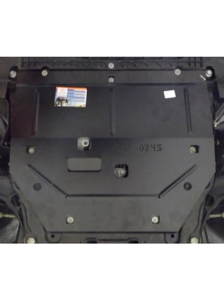 Защита двигателя, КПП для авто Renault Megane IV 2016- V-1,5 DCI 1,2 ( TM Kolchuga ) Стандарт