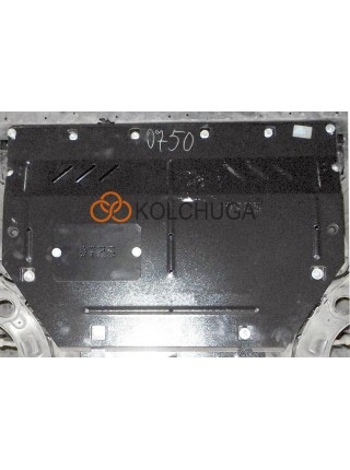 Защита двигателя, КПП для авто Mazda 2(DJ) 2015- V-1,5i (АКПП) ( TM Kolchuga ) ZiPoFlex
