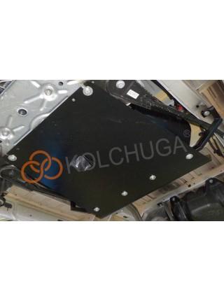 Защита топливный фильтр, лямбда зонд для авто Opel Vivaro 2014- V-все ( TM Kolchuga ) ZiPoFlex