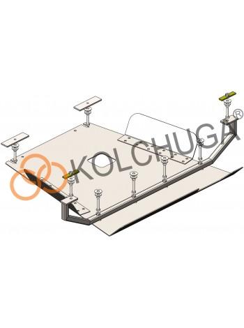 Защита топливный фильтр, лямбда зонд для авто Renault Trafic 2014- V-все ( TM Kolchuga ) Стандарт