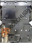 Защита двигателя, КПП, радиатора для авто Mercedes-Benz Vito D (W447) 2014- V-2,2 СDI (4х4, АКПП) ( TM Kolchuga ) ZiPoFlex