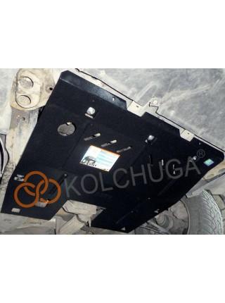 Защита двигателя, КПП для авто Peugeot 807 2002-2010 V-2,0 HDI ( TM Kolchuga ) ZiPoFlex