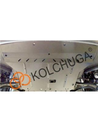 Защита двигателя, КПП, радиатора для авто Kia Rio V 2017- V-1,4и ( TM Kolchuga ) ZiPoFlex