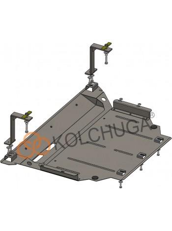 Защита двигателя, КПП, радиатора для авто Skoda Karoq 2016- V-2.0TSI; 2.0TDI; ( TM Kolchuga ) Стандарт