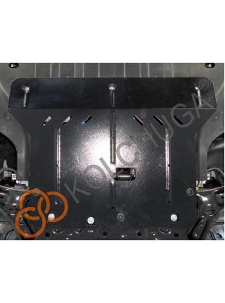 Защита двигателя, КПП, радиатора для авто Hyundai Accent V HCr RUS 2017- V-1,4i; 1,6i; ( TM Kolchuga ) ZiPoFlex