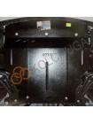 Защита двигателя, КПП, радиатора для авто Ford KA+ 2016- V-1,2Duratec (МКПП, сборка Индия для Европейского рынка) ( TM Kolchuga ) ZiPoFlex