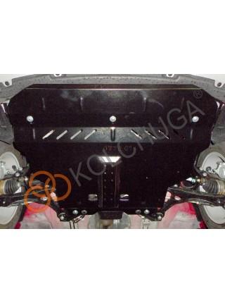 Защита двигателя, КПП для авто Chery Tiggo 2 2017- V-1,5и ( TM Kolchuga ) ZiPoFlex