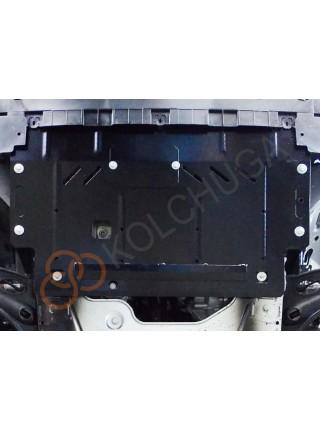 Защита двигателя, КПП для авто Opel Vivaro 2014- V-1,6 CDТI ( TM Kolchuga ) ZiPoFlex
