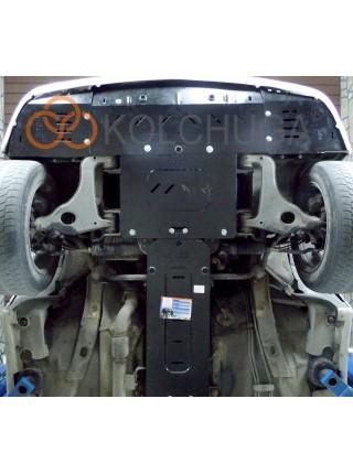 Защита двигателя, радиатора для авто Mercedes-Benz W 210 1995-2001 V-все (кроме 4 Matik) ( TM Kolchuga ) ZiPoFlex
