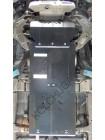 Защита двигателя, КПП, радиатора, РКПП, передний мост для авто Great Wall Wingle5 2011- V-2,0 D с фильтром сажи Euro 5 (МКПП, только дизель) ( TM Kolchuga ) ZiPoFlex