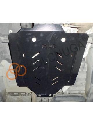Защита раздат. коробки, заднего моста для авто Audi Q7 2005-2015 V-3.0 D 3,6 4.2 quattro АКПП ( TM Kolchuga ) Стандарт