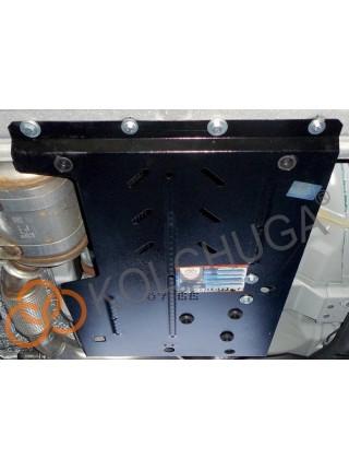 Защита КПП для авто Maserati Levante 2016- V-3,0 TDI (АКПП) ( TM Kolchuga ) ZiPoFlex