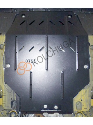 Защита двигателя, КПП для авто Chevrolet Malibu 2015- V- 1.5XFT; 1,6TD; 1,8 HYBRID; ( TM Kolchuga ) Стандарт