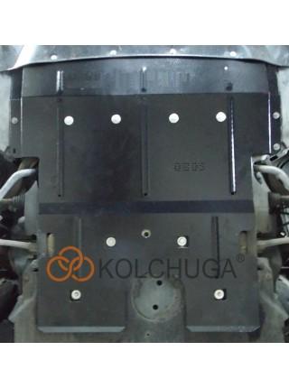 Защита двигателя, радиатора, рулевые рейки для авто BMW 5-й сериї 520i (F10) 2010- V-2,0и АКПП задний привод ( TM Kolchuga ) ZiPoFlex