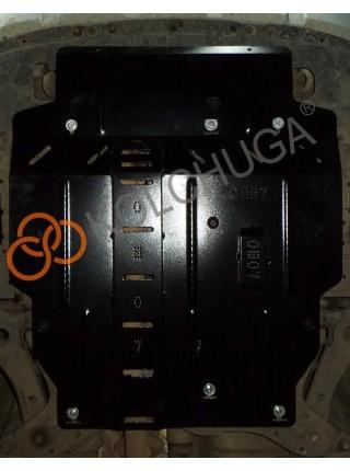 Защита двигателя, КПП для авто Mitsubishi Outlander XL 2005-2012 V-3,0 (АКПП, МКПП, вариатор) ( TM Kolchuga ) ZiPoFlex