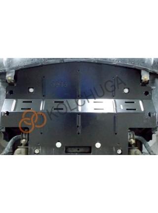 Защита радиатора для авто Mercedes-Benz W 251 R500 2005-2014 V-5,0i (АКПП, 4х4) ( TM Kolchuga ) ZiPoFlex