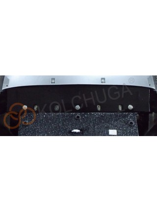 Защита радиатора для авто Audi Q7 2009-2015 V-3.0 TDi АКПП ( TM Kolchuga ) Стандарт