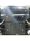 Защита двигателя, радиатора, рулевые рейки для авто Mercedes-Benz W 211 E270 2002-2008 V-только 2,7CDi (АКПП, задний привод) ( TM Kolchuga ) Стандарт
