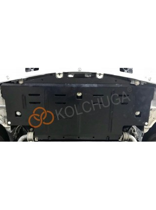 Защита радиатора для авто Mercedes-Benz GL 450 (X164) 2006-2012 V-4,6i; 5,5i; (АКПП, 4х4, сборка USA) ( TM Kolchuga ) ZiPoFlex