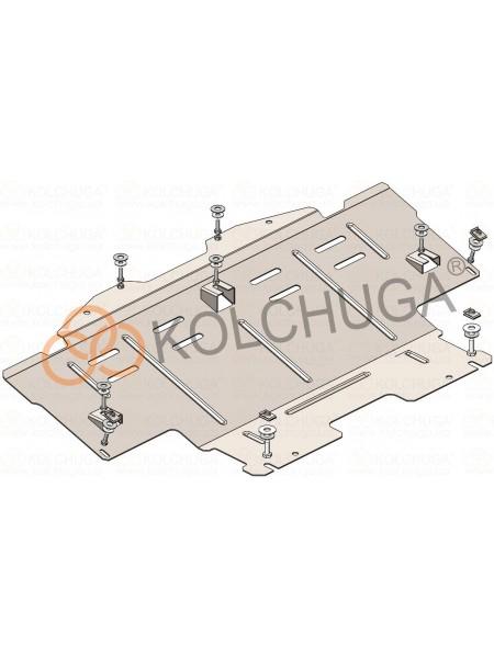 Защита радиатора для авто Mercedes-Benz GL 450 (X164) 2006-2012 V-4,6и 5,5и АКПП 4х4 сборка USA ( TM Kolchuga ) Стандарт