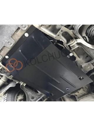 Защита двигателя, радиатора для авто Opel Omega B 1994-2003 V-все ( TM Kolchuga ) Стандарт