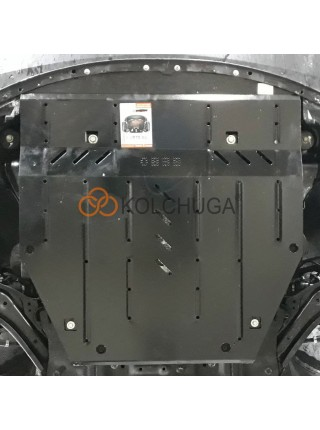 Защита двигателя, КПП, радиатора для авто Nissan X-Trail T32 2017- V-все ( TM Kolchuga ) ZiPoFlex
