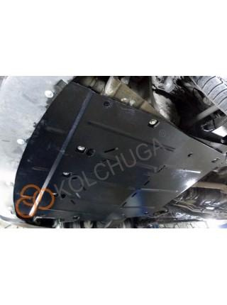 Защита двигателя, КПП, радиатора для авто Ford Mondeo 2000-2007 V-2,0TDCi (МКПП) ( TM Kolchuga ) Стандарт