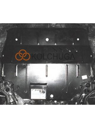 Защита двигателя, КПП для авто Volkswagen Polo sedan 2017- V-1,4i (только DSG АКПП) ( TM Kolchuga ) Стандарт