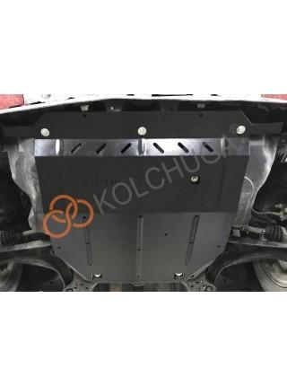 Защита двигателя, КПП для авто Ford Escape 2007-2012 V-3.0i Duratec (АКПП, 4х4, кроме Ecoflex) ( TM Kolchuga ) ZiPoFlex