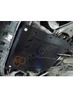 Защита двигателя, КПП, радиатора для авто Renault Twingo II 2007-2014 V-1,2i; 1,5D; (МКПП) ( TM Kolchuga ) Стандарт