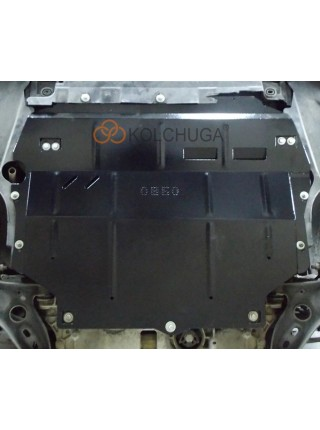 Защита двигателя, КПП для авто Volkswagen Passat B7 WeBasto 2010-2015 V-2,0ТDI АКПП ( TM Kolchuga ) Стандарт