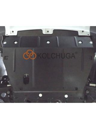 Защита двигателя, КПП, радиатора для авто Chery Tiggo 4 2018- V-все ( TM Kolchuga ) ZiPoFlex